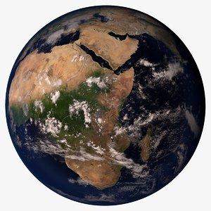 3d planet earth 54k