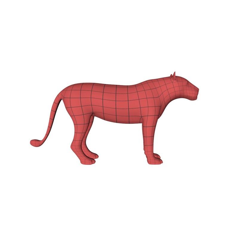 base mesh lioness x