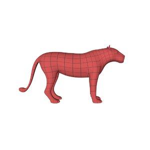 c4d base mesh lioness