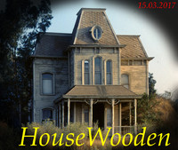 3d model old haunted house