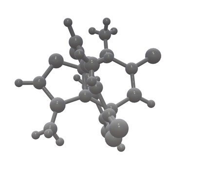 3d molecule model