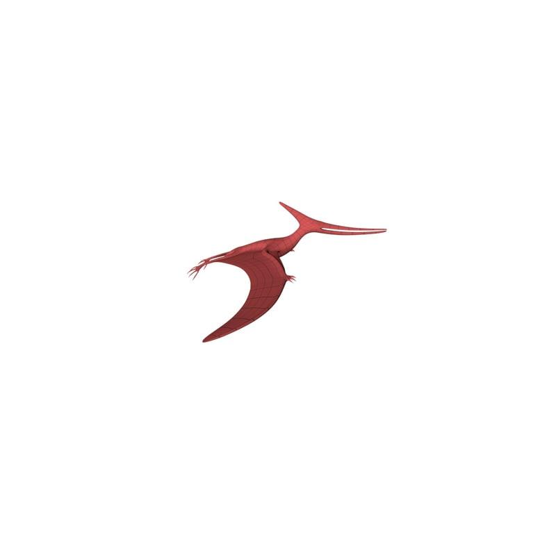 base mesh pteranodon c4d