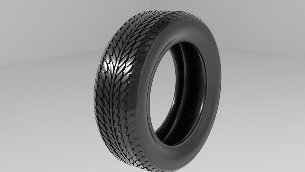 3d car tires