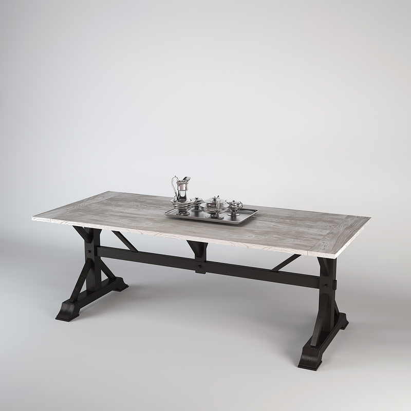 eichholtz table dining royal 3d max