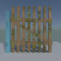 simple fence blend