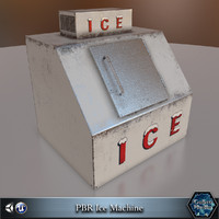ice machine pbr 3d 3ds