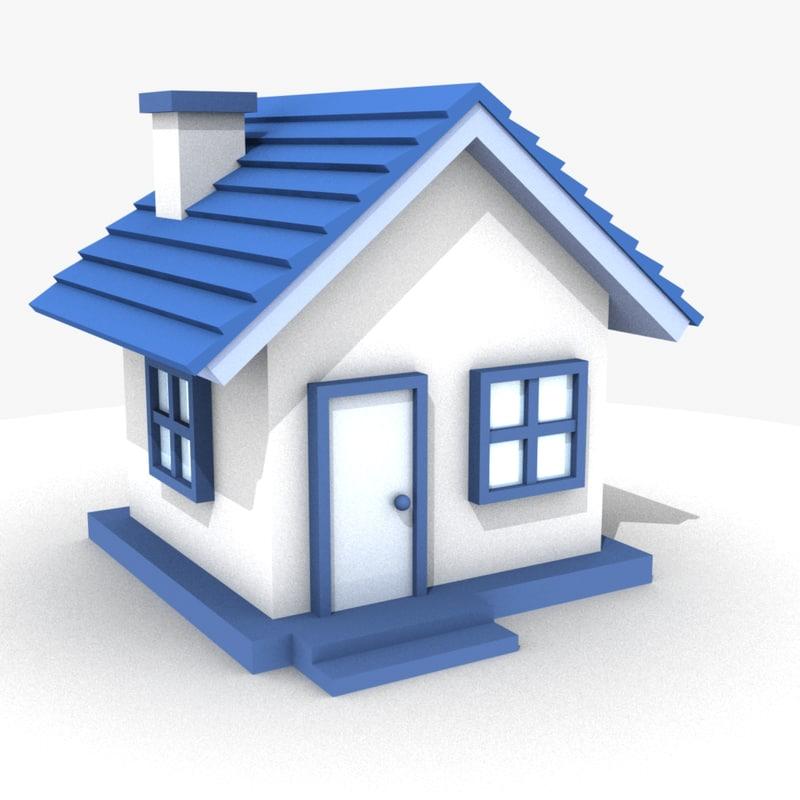 obj mini house