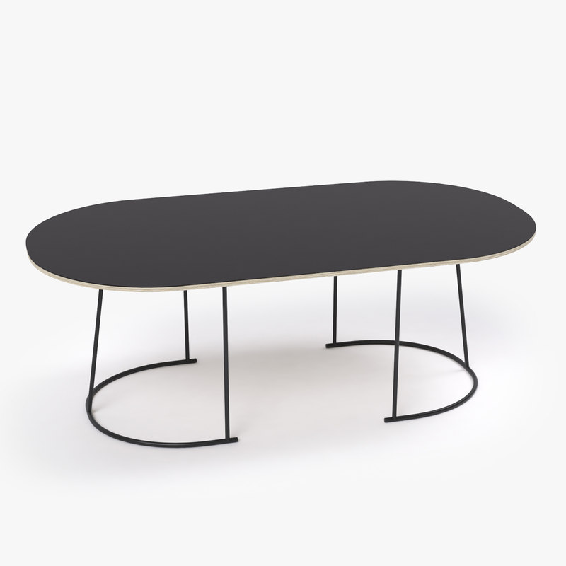 3d airy large table model