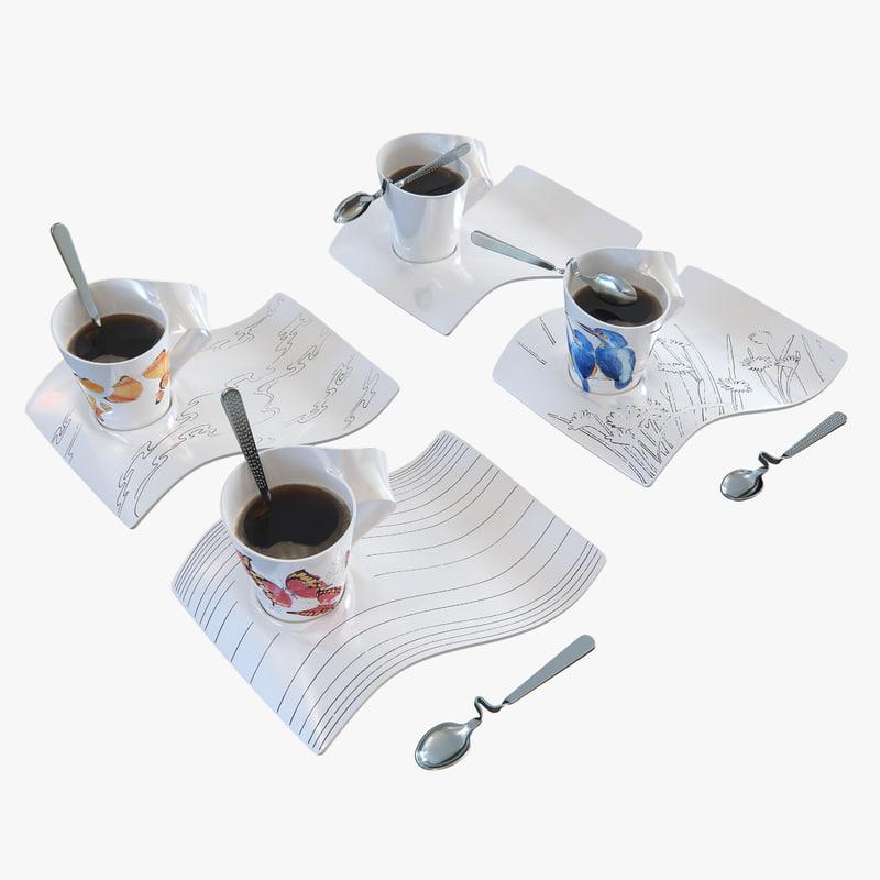 cup villeroy boch 3d model