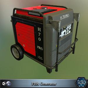 generator pbr 3d max