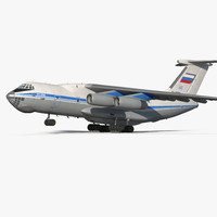Ilyushin Il-76 Civil Transport Rigged