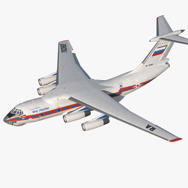 ilyushin il-76 emergency russian max