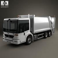 3d model mercedes mercedes-benz econic