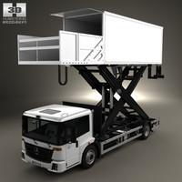 mercedes mercedes-benz econic 3d model
