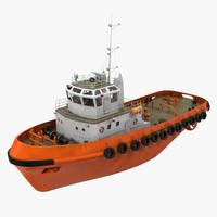 deep sea tug generic c4d