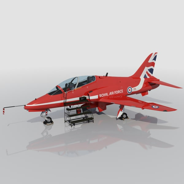 red arrow hawk t1 3d max