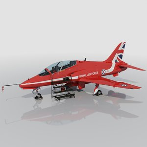 red arrow hawk t1 3d max