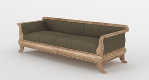 old sofa fbx