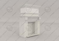 classical fireplace max free