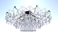 chandelier lights 3d 3ds