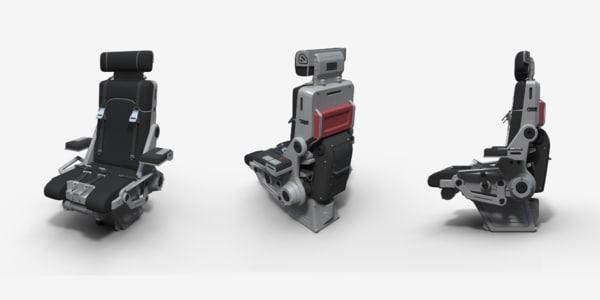 3d chair pilot model