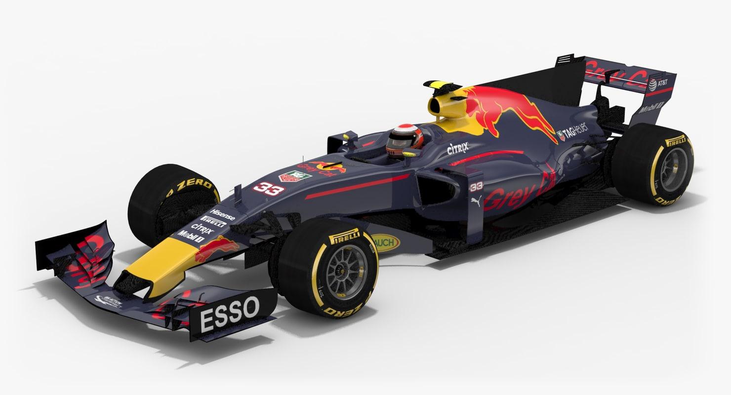 3d greycat gc13 formula 1 model