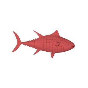 base mesh tuna c4d