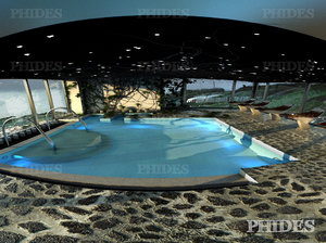 3d model swimming pool 3 day