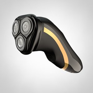 electric shaver 3d model