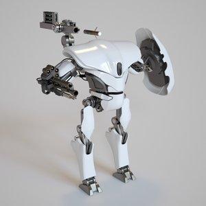 robot robo 3d max