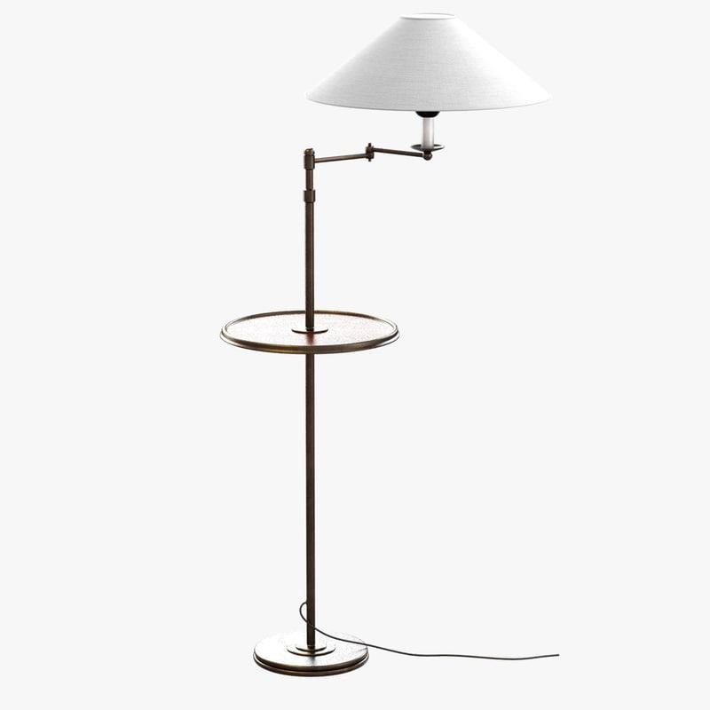 3d floor lamp lumart voltaire model