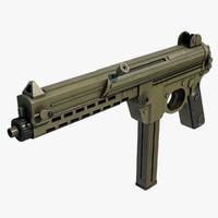 3d walther mpl submachine gun