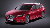3d 2016 wagon mazda model