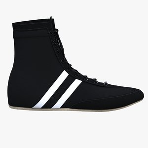 3d boxing lightweight shoes model