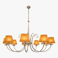 chandelier baga 3d model