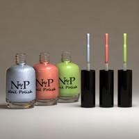 nail polish 3d model
