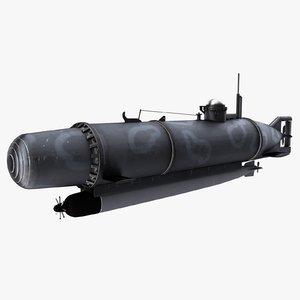3d midget submarine hecht pike