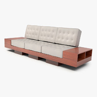 3d model original design modern couch