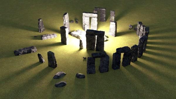 3ds stonehenge stone
