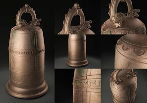 3d chinese bell