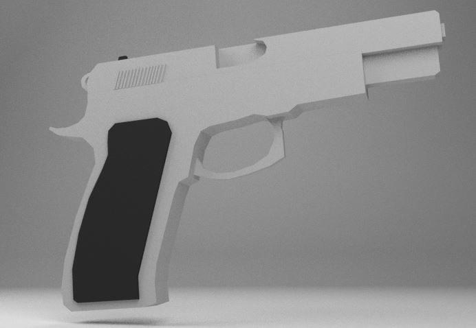 cz 75 b 3d model