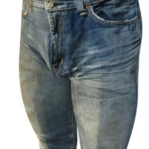 realistic faded jeans 3d model