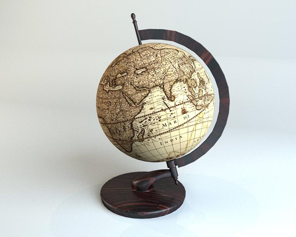 max antique globe