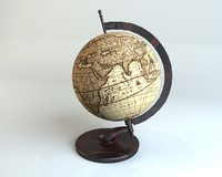 max antique globe