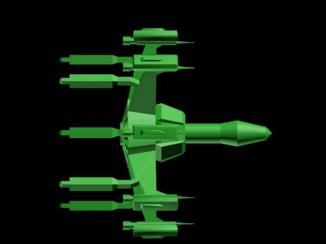 missile 3d 3ds