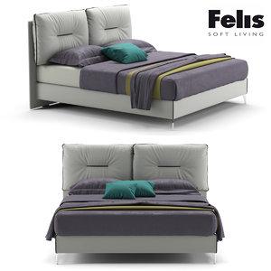 bed felis 3d model