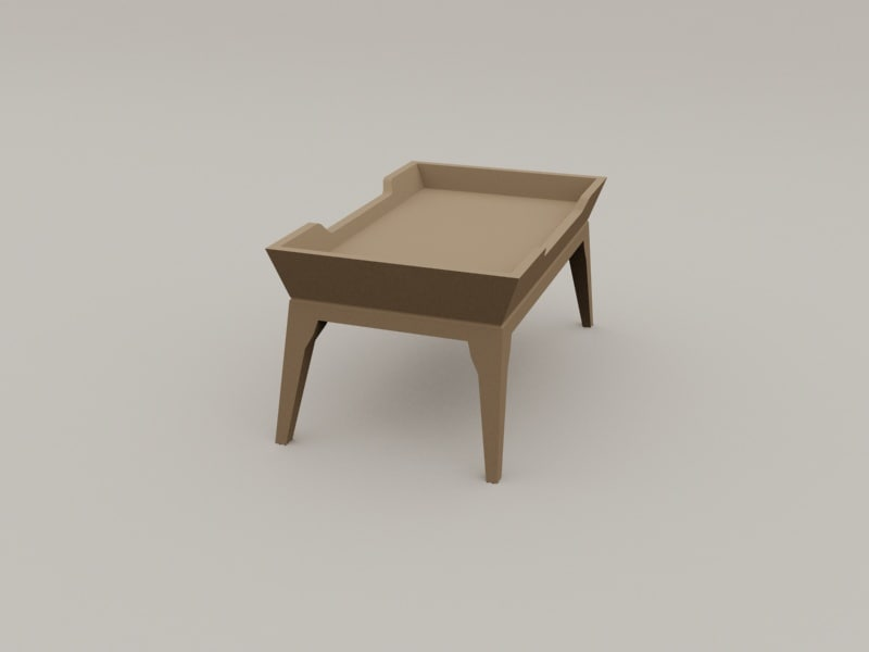 tea table 3d max