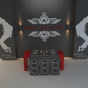 3d dj setup