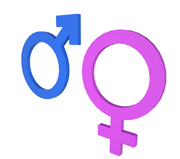 gender symbol 3d 3ds