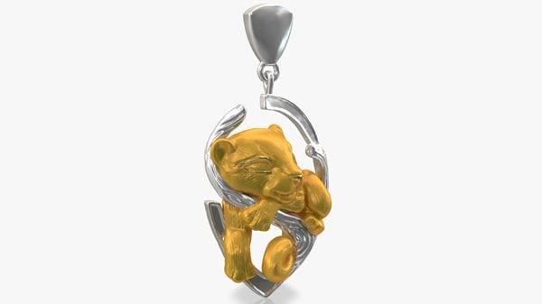 jewelry puma dreams 3d max